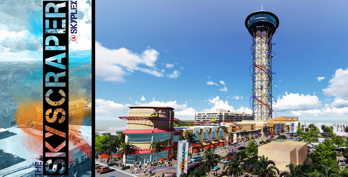 Skycraper Coaster à Orlando