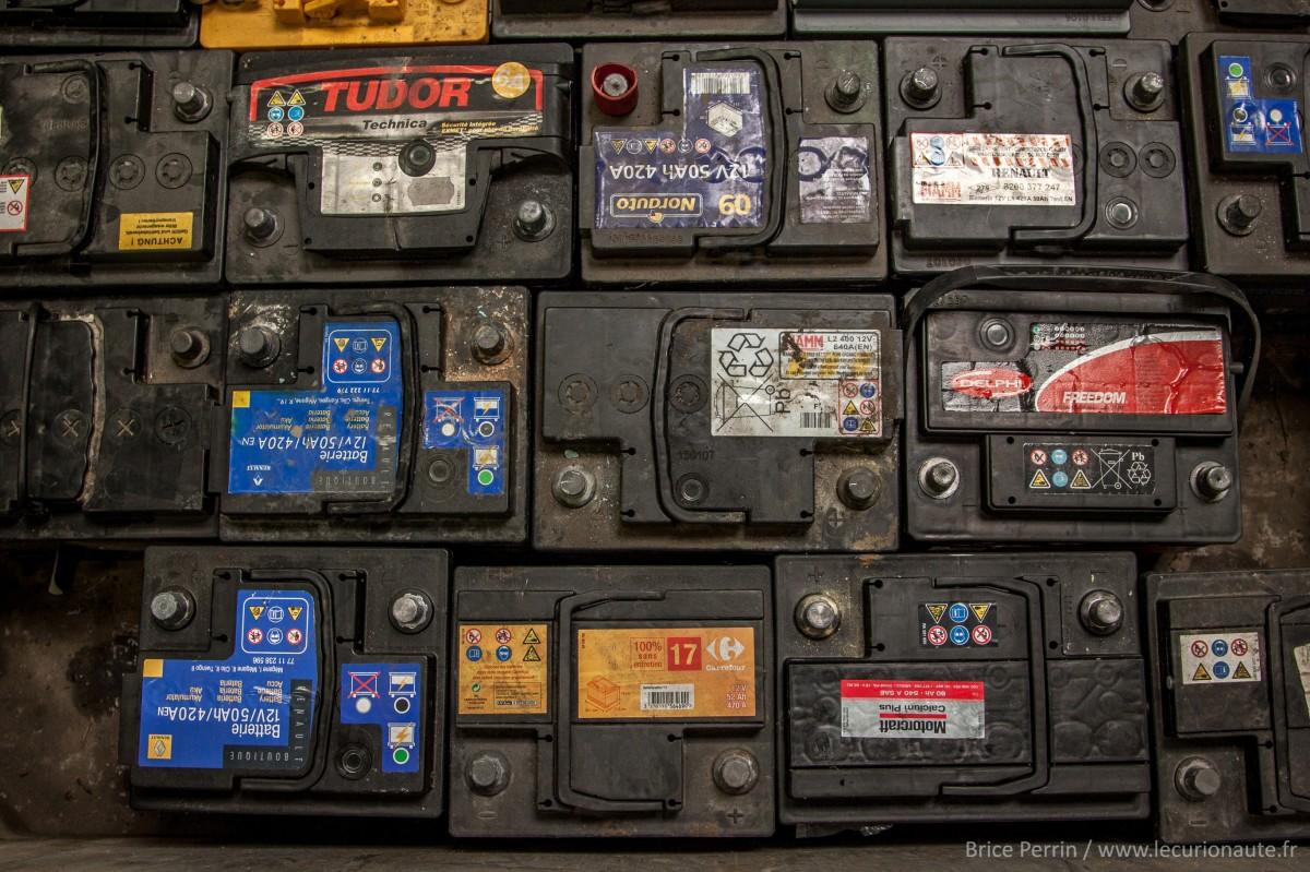 Des batteries - Photo Brice Perrin