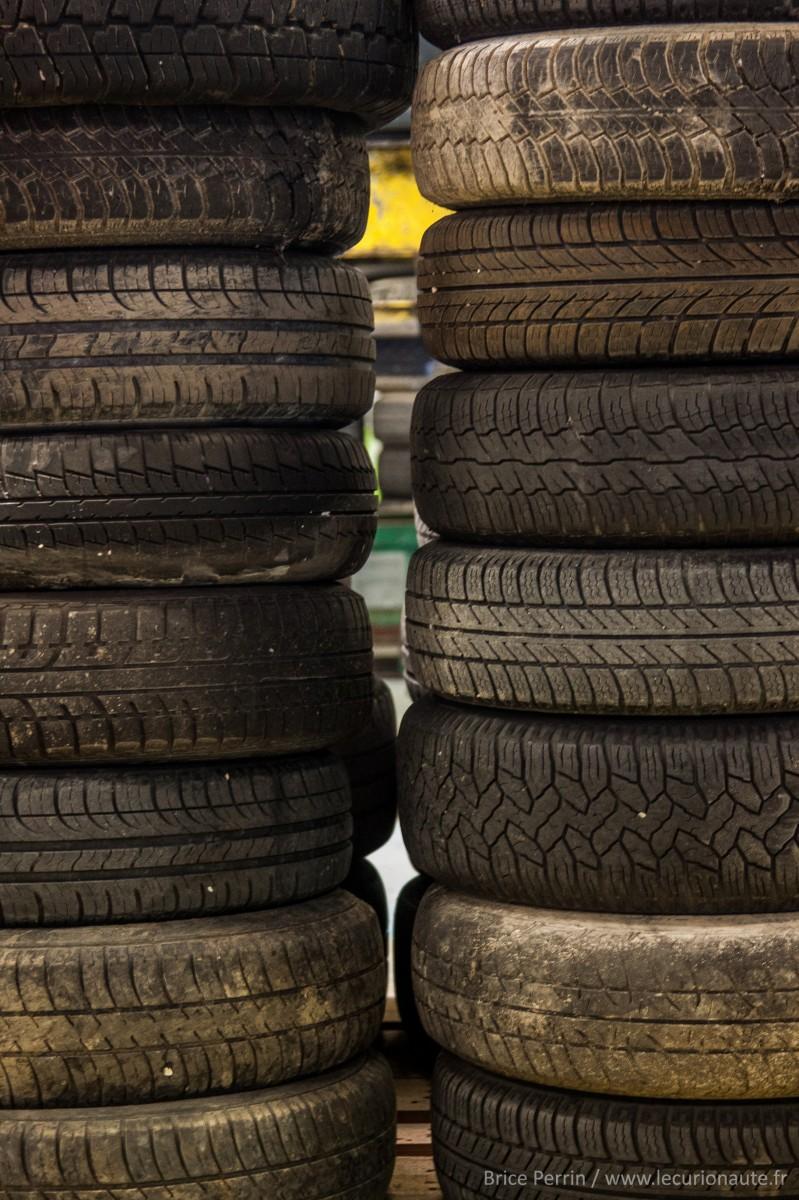 Des pneus - Photo Brice Perrin
