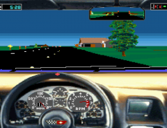 Le jeu vidéo Test Drive III jouable en ligne avec DosBox grâce à The Internet Archive