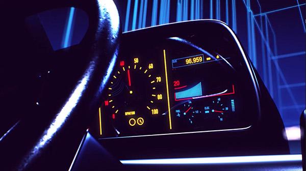 Florian Renner - Retrowave. Un mélange de Tron et de Retour vers le futur !