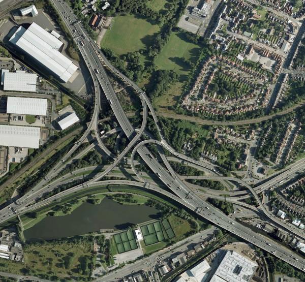 Échangeur autoroutier - Birmingham