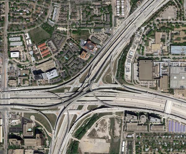 Échangeur autoroutier - Dallas High Five Interchange