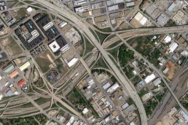 Échangeur autoroutier - Dallas Sud