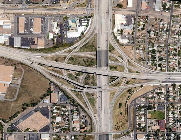 Échangeur autoroutier - Denver