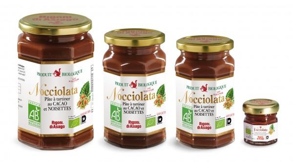 Nocciolata, la pâte à tartiner bio et sans huile de palme