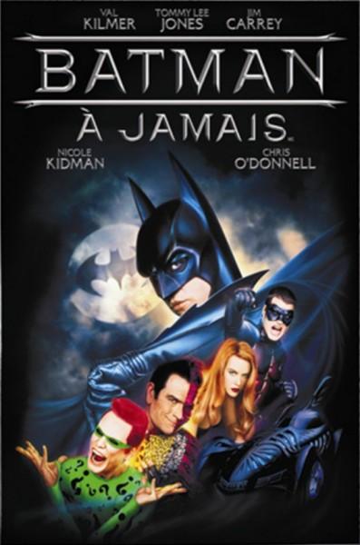 L'affiche du film Batman forever - Batman à jamais