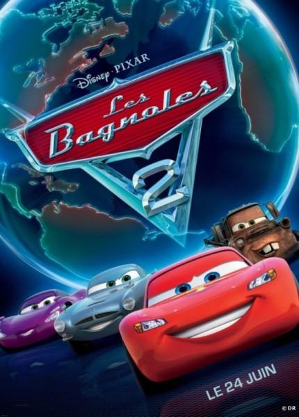 L'affiche du film Cars 2 - Les Bagnoles 2