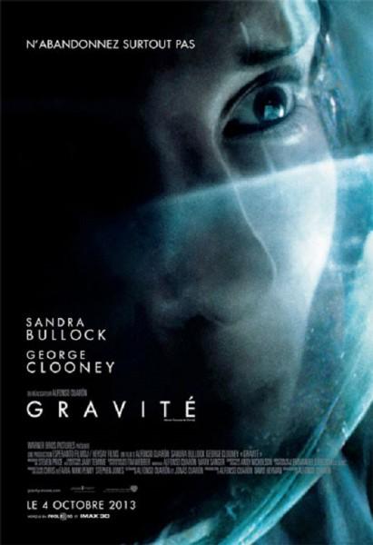 L'affiche du film Gravity - Gravité