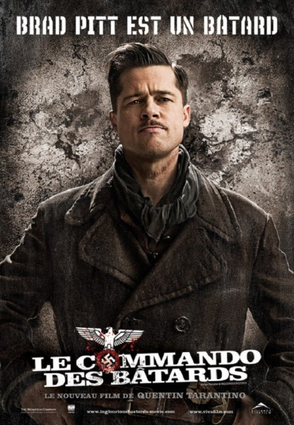 L'affiche du film Inglorious Basterds - Le commando des batards