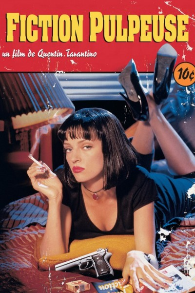 L'affiche du film Pulp Fiction - Fiction pulpeuse