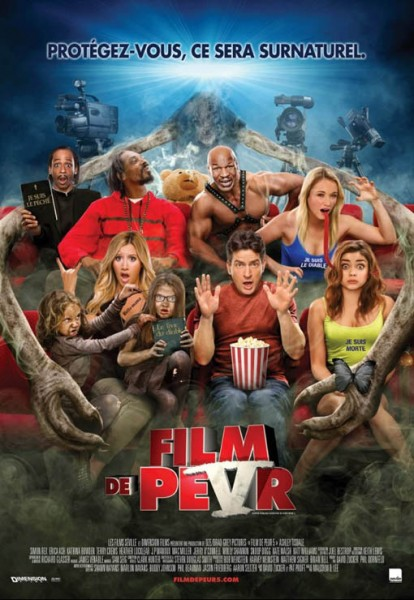 L'affiche du film Scary Movie 5 - Film de peur 5