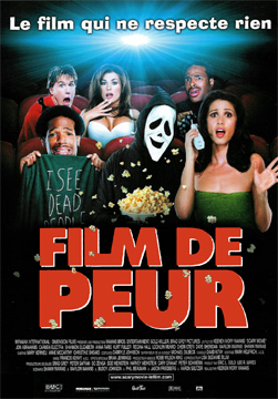 L'affiche du film Scary Movie - Film de peur