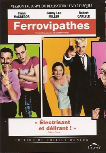L'affiche du film Trainspotting - Ferrovipathes
