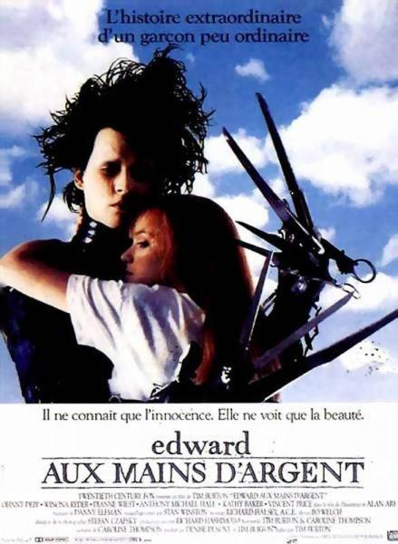 Affiche Edward aux mains d'argent Edward Scissorhands
