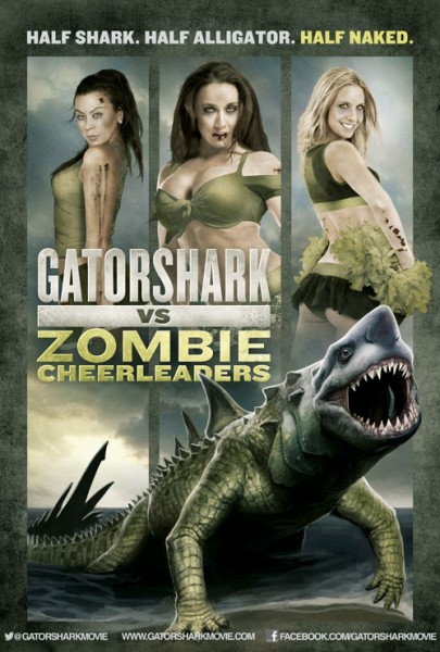 Affiche Film Gatorshark VS Zombie Cheerleaders