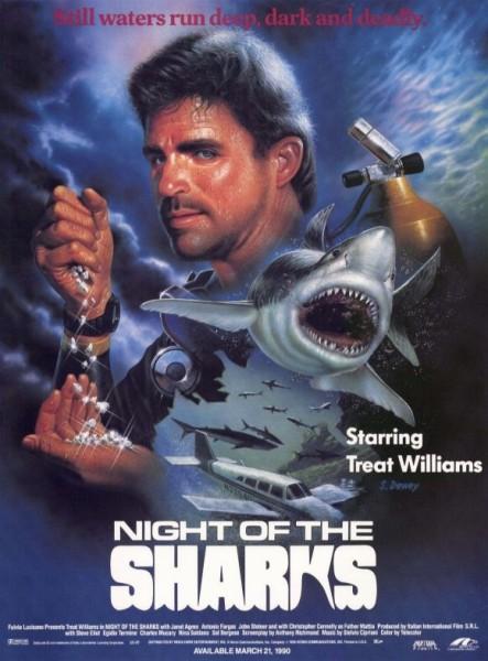 Affiche Film La nuit des requins