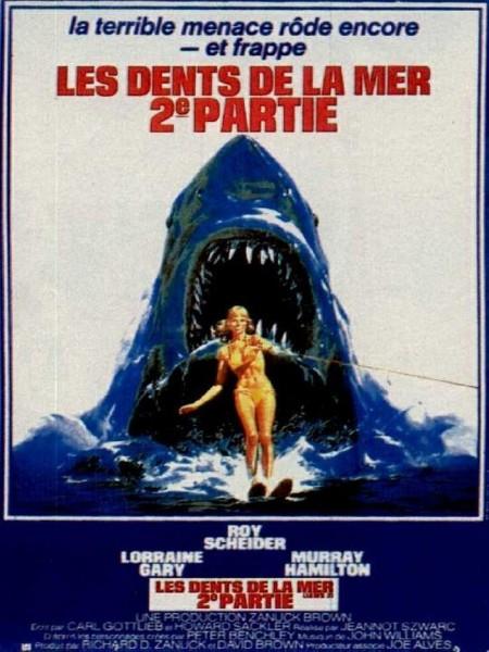 Affiche Film Les dents de la mer 2