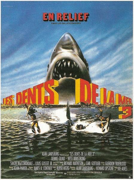 Affiche Film Les dents de la mer 3