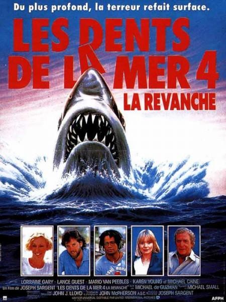Affiche Film Les dents de la mer 4