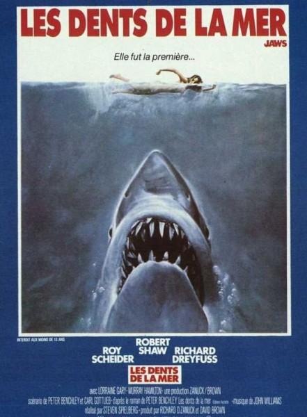 Affiche Film Les dents de la mer