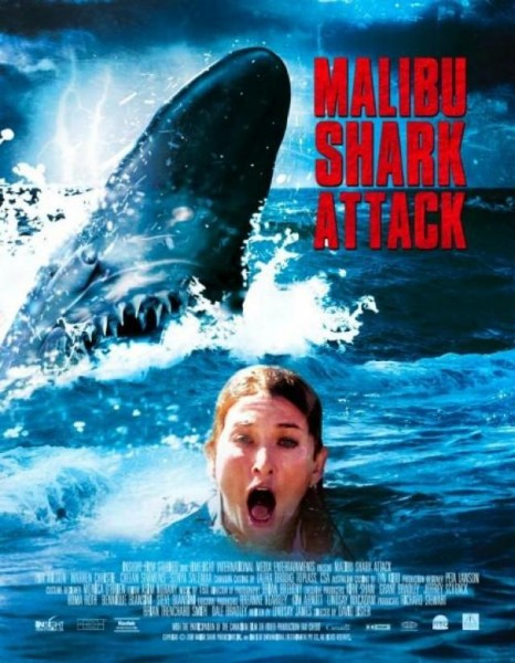 Affiche Film Malibu Shark Attack