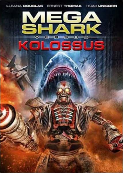 Affiche Film Mega Shark versus Kolossus