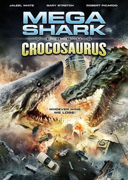 Affiche Film Megashark VS Crocosaurus