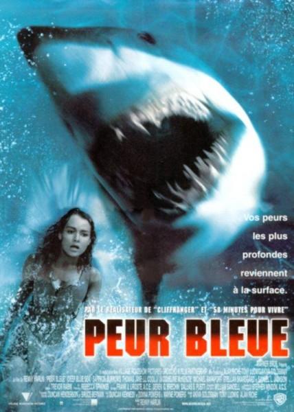 Affiche Film Peur Bleue