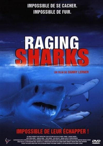 Affiche Film Raging Sharks