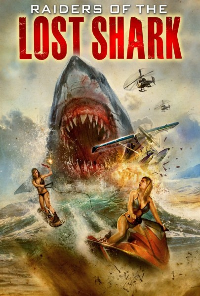 Affiche film Raiders of the lost shark