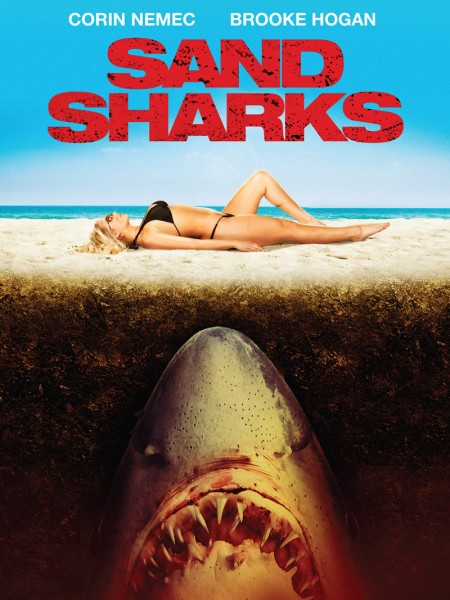 Affiche film Sand Sharks - Les dents de la plage