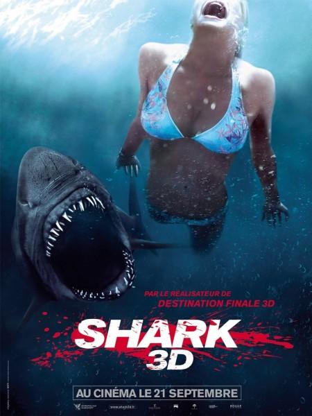 Affiche Film Shark 3D