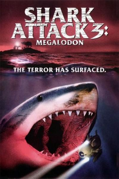 Affiche Film Shark Attack 3 Megalodon