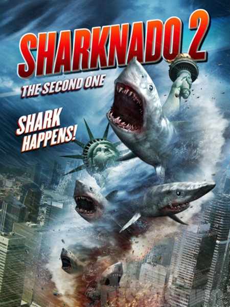 Affiche Film Sharknado 2
