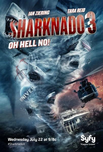 Affiche Film Sharknado 3