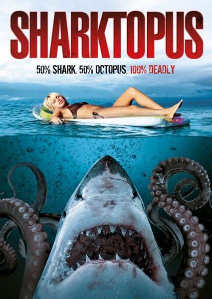 Affiche Film Sharktopus