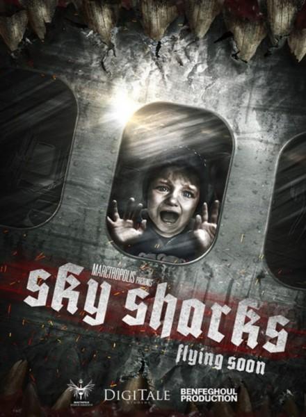 Affiche Film Sky Sharks