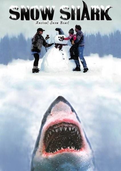 Affiche Film Snow Shark