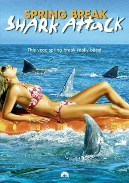 Affiche Film Spring Break Shark Attack