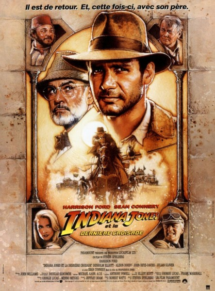 Affiche Indiana Jones et la dernière croisade Indiana Jones and the last crusade