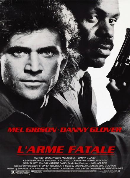 Affiche L'Arme fatale Lethal Weapon