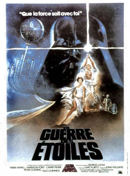 Affiche La guerre des étoiles Star Wars
