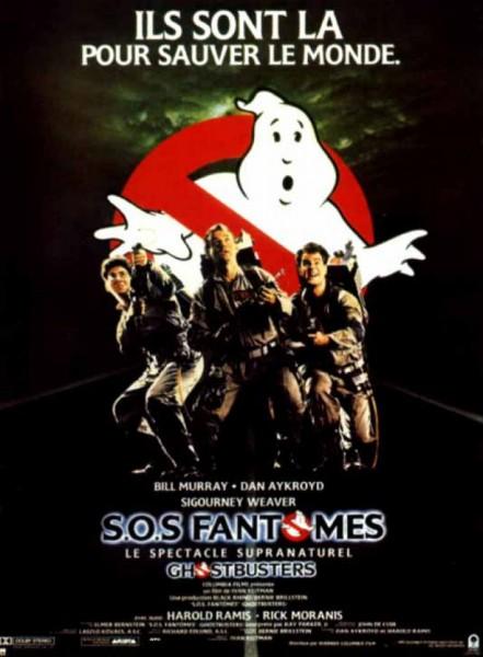 Affiche SOS Fantomes