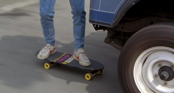 Le skateboard de Marty McFly dans Retour vers le futur