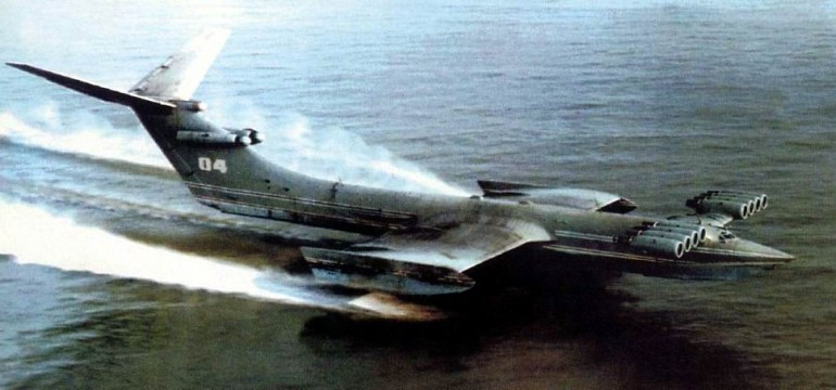 Ekranoplan Caspian Sea Monster