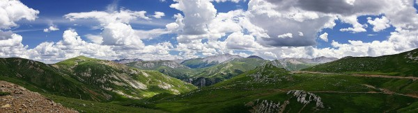 Panorama montagnes - 2016