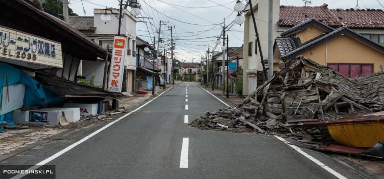 Fukushima 5 ans après - Les rues désertes de Futaba