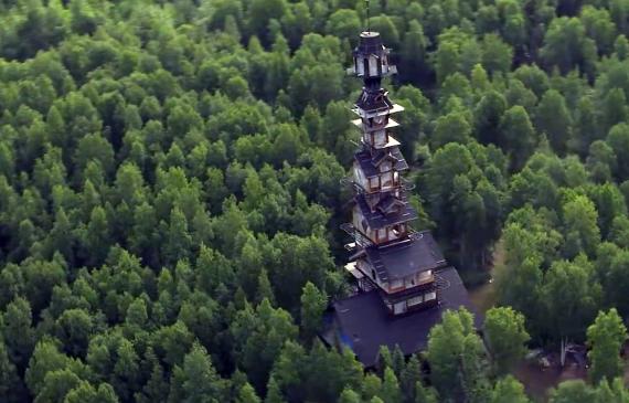 Cabane de 56 mètres - Phillip Weidner en Alaska - Forêt