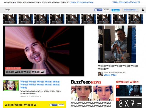 Easter egg Buzzfeed Wilkie